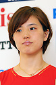 Miyuki Maeda (JPN), .June 9, 2012 - Badminton : .Badminton Japan National Team Send-off Ceremony for the London Olympics 2012 .in Tokyo, Japan. .(Photo by Daiju Kitamura/AFLO SPORT) [1045]