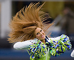 Seattle Seahawks Seagals perform at  CenturyLink Field in Seattle, Washington on November 27, 2011.  ©2011 Jim Bryant Photo. All Rights Reserved. ©2011 Jim Bryant Photo. All Rights Reserved.