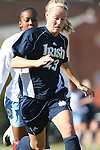 24 November 2007: Notre Dame's Elise Weber. The University of Notre Dame Fighting Irish defeated University of North Carolina Tar Heels 3-2 at Fetzer Field in Chapel Hill, North Carolina in a Third Round NCAA Division I Womens Soccer Tournament game.