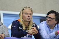 SPEED SKATING: CALGARY: Olympic Oval, 08-03-2015, ISU World Championships Allround, Koen Verweij als toeschouwer, ©foto Martin de Jong