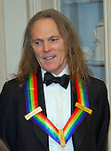 Timothy B. Schmidt of the rock band &quot;The Eagles,&quot; one of the five recipients of the 39th Annual Kennedy Center Honors pose for a group photo following a dinner hosted by United States Secretary of State John F. Kerry in their honor at the U.S. Department of State in Washington, D.C. on Saturday, December 3, 2016.  The 2016 honorees are: Argentine pianist Martha Argerich; rock band the Eagles; screen and stage actor Al Pacino; gospel and blues singer Mavis Staples; and musician James Taylor.<br /> Credit: Ron Sachs / Pool via CNP