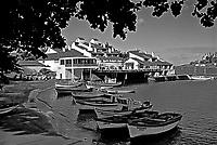 Hotel Porto do Sol em Guarapari. Espírito Santo. 1988. Foto de Juca Martins.