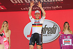 Andre Greipel (GER) Lotto-Soudal wins Stage 2 and takes over the points jersey of the 100th edition of the Giro d'Italia 2017, running 221km from Olbia to Tortoli, Sardinia, Italy. 6th May 2017.<br /> Picture: Eoin Clarke | Cyclefile<br /> <br /> All photos usage must carry mandatory copyright credit (&copy; Cyclefile | Eoin Clarke)