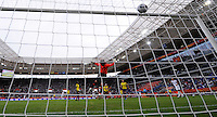 Megan Rapinoe scores 2:0 during the FIFA Women's World Cup at the FIFA Stadium in Sinsheim, Germany on July 2nd, 2011.