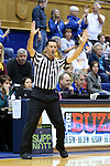03 December 2015: Referee Edward Sidlasky indicates a successful three point shot. The Duke University Blue Devils hosted the University of Minnesota Golden Gophers at Cameron Indoor Stadium in Durham, North Carolina in a 2015-16 NCAA Division I Women's Basketball game. Duke won the game 84-64.
