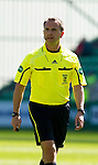 Hibs v St Johnstone.....30.04.11.Ref Crawford Allan.Picture by Graeme Hart..Copyright Perthshire Picture Agency.Tel: 01738 623350  Mobile: 07990 594431
