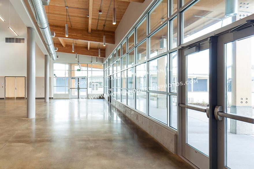 middle school addition, Tacoma, WA;