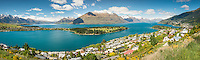 Queenstown and Lake Wakatipu, Central Otago, South Island, New Zealand