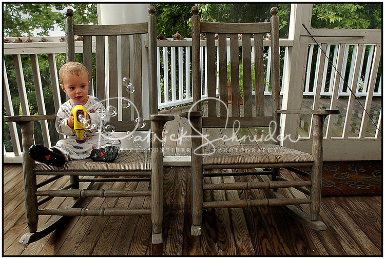 ... rocking chairs. Model released image may be used to illustrate other