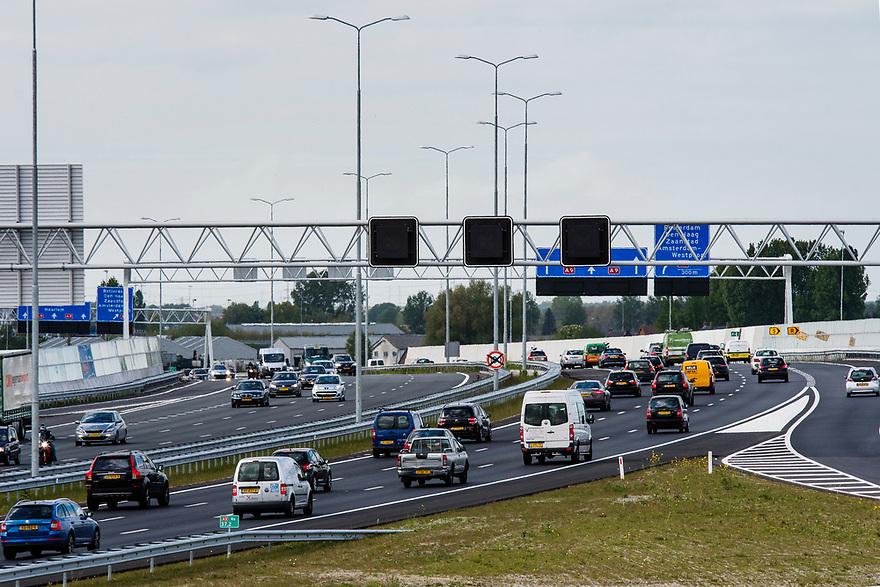 Nederland, Lijnden, Hoofddorp, 20170509<br /> Nieuw traject van de A9 bij Hoofddorp. <br /> <br /> Foto: (c) Michiel Wijnbergh