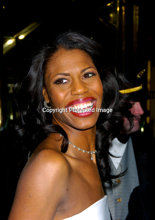 """Omarosa Manigault-Stallworth ..at """"The Apprentice"""" finale Party on April 15, 2004 at Trump Tower. Photo by Robin Platzer, Twin Images"""