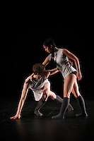 Coriolis Dance Collective performs a piece by Venezuelan choreographer Gillmer Duran at Chop Shop: Northside on October 2010.
