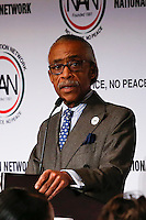 "Rev Al Sharpton speaks during the ""Police Policy Panel"" during the 2015 National Action Network Convention in New York City. 04.08.2015. Kena Betancur/VIEWpress."
