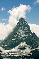 the Matterhorn mountain peak - Swiss Alps - Switzerland