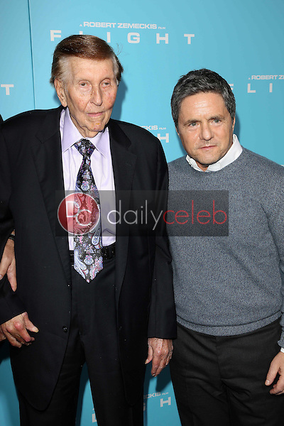 Sumner Redstone and Brad Grey<br /> at the &quot;Flight&quot; Los Angeles Premiere, Cinerama Dome, Hollywood, CA 10-23-12<br /> David Edwards/DailyCeleb.com 818-249-4998