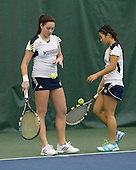 The University of Michigan women's tennis team beat No. 14 Texas, 5-2, at the Varsity Tennis Center in Ann Arbor, Mich., on February 24, 2013.