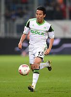 FUSSBALL  1. BUNDESLIGA  SAISON 2012/2013  14. SPIELTAG     TSG 1899 Hoffenheim - VfL Wolfsburg       18.11.2012 Makoto Hasebe (VfL Wolfsburg)