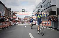 Alejandro Valverde (ESP/Movistar team) wins his 4th 'Doyenne'<br /> <br /> 103rd Li&egrave;ge-Bastogne-Li&egrave;ge 2017 (1.UWT)<br /> One Day Race: Li&egrave;ge &rsaquo; Ans (258km)
