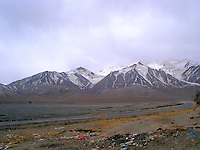 Tibet mountain range