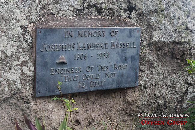 Josephus Lambert Hassell Plaque