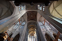 Transept and choir, Beauvais Cathedral (Cathedrale Saint Pierre de Beauvais), 13th - 16 th century, Beauvais, Oise, France. Picture by Manuel Cohen