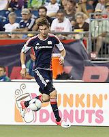 New England Revolution midfielder Stephen McCarthy (26) at midfield. In a Major League Soccer (MLS) match, the New England Revolution tied the Seattle Sounders FC, 2-2, at Gillette Stadium on June 30, 2012.