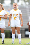06 September 2015: USC's Natalie Donaldson. The University of North Carolina Tar Heels played the University of Southern California Trojans at Koskinen Stadium in Durham, NC in a 2015 NCAA Division I Women's Soccer match. UNC won the game 2-1.