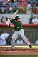 Daytona Tortugas catcher Chris Okey (25) at bat during a game against the Florida Fire Frogs on April 6, 2017 at Osceola County Stadium in Kissimmee, Florida.  Daytona defeated Florida 3-1.  (Mike Janes/Four Seam Images)