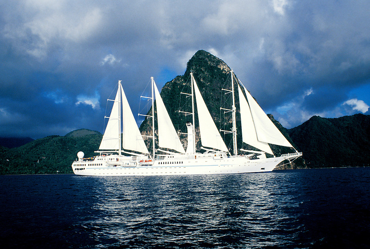 Cruising: Wind Sprit, St. Lucia, Caribbean,  Photo: cruwin101.Photo copyright Lee Foster, 510/549-2202,  lee@fostertravel.com, www.fostertravel.com