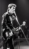 The Buzzcocks - Pete Shelley - performing live at the Lyceum Theatre in London UK - 10 Mar 1978.  Photo credit: George Bodnar Archive/IconicPix