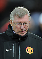 FUSSBALL   CHAMPIONS LEAGUE   SAISON 2011/2012     23.11.2011 FC Basel - Manchester United Enttaeuschung ManU; Trainer Sir  Alex  Ferguson