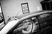 Krotoszyn 02.10.2010 Poland<br /> Sumo fighter Adrian Czech in the car.<br /> Poles do not know much about sumo. Japan's national sport remains a mystery, except for the image of the very big and fat sumo wrestlers. However Polish sumo wrestlers have been, for many years, classified among world's leading sportsmen in this field. Since 1995 more and more followers join the sumo sections, fascinated with the art of fighting on the clay dohyo.<br /> Photo: Adam Lach / Napo Images<br /> <br /> Zawodnik sumo Adrian Czech w samochodzie.<br /> Polacy niewiele wiedza o sumo. Narodowy sport Japonii to wciaz tajemnica. Kojarzy sie jedynie z wielkimi i grubymi mezczyznami. Jednak zawodnicy z Polski od lat naleza do swiatowej czolowki w tej dyscyplinie. Od 1995 roku w sekcjach sumo przybywa zawodnik&oacute;w zafascynowanych zmaganiami na glinianym dohyo.<br /> Fot: Adam Lach / Napo Images