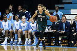 09 November 2015: Mount Olive's Anamaria Zjacic (CRO). The University of North Carolina Tar Heels hosted the University of Mount Olive Trojans at Carmichael Arena in Chapel Hill, North Carolina in a 2015-16 NCAA Women's Basketball exhibition game. UNC won the game 99-45.