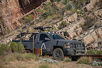 Movie &quot;Transformers&quot; being filmed near Theodore Roosevelt Dam in Arizona. The film has just started filming and further filming will take place in locations like Ireland, Great Britan and Iceland. <br /> <br /> &copy;Fredrik Naumann/Felix Features