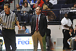 "Ole Miss vs. East Tennessee State head basketball coach Murry Bartow at the C.M. ""Tad"" Smith Coliseum in Oxford, Miss. on Saturday, December 14, 2012. Mississippi won 77-55 to improve to 7-1. (AP Photo/Oxford Eagle, Bruce Newman).."