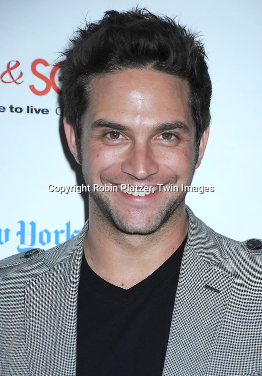 actor Brandon Barash attending The 6th Annual ABC And SOAPnet salute to BROADWAY CARES/ EQUITY FIGHTS AIDS Benefit post party on March 21, 2010 at The Marriott Marquis Hotel in New York City.