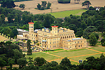 Osbourne House Aerial Photographs of the Isle of Wight by photographer Patrick Eden