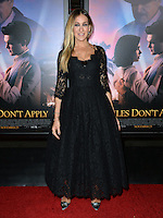 LOS ANGELES, CA. November 10, 2016: Actress Sarah Jessica Parker at World Premiere of &quot;Rules Don't Apply&quot;, part of the AFI Fest 2016, at the TCL Chinese Theatre, Hollywood.<br /> Picture: Paul Smith/Featureflash/SilverHub 0208 004 5359/ 07711 972644 Editors@silverhubmedia.com