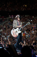 Joe Perry of Aerosmith in concert at The Palace Of Auburn Hills in Auburn Hills, Michigan. July 5, 2012. Credit: MediaPunch Inc.