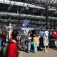 Friday fashion day at Old Spitalfields Market, London, UK. Picture by Manuel Cohen