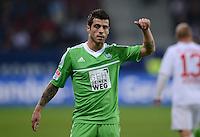 FUSSBALL   1. BUNDESLIGA  SAISON 2012/2013   3. Spieltag FC Augsburg - VfL Wolfsburg           14.09.2012 Vierinha (VfL Wolfsburg)