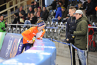 SCHAATSEN: BERLIJN: Sportforum Berlin, 05-03-2016, WK Allround, Sven Kramer, Michael Kaatee, ©foto Martin de Jong