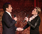 Jason Danieley and Marin Mazzie preview their show 'Broadway & Beyond'  at Feinsteins/54 Below on May 8, 2017 in New York City.