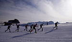 The race is on! Spearhead Traverse backcountry ski race, Whistler