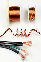 ASSORTED COPPER WIRES<br /> Possesses High Electrical and Thermal Conductivity<br /> Second only to elemental silver in conductivity, due to the fact that virtually all valence electrons participate in conduction.