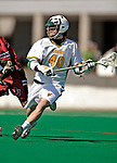 23 March 2008: University of Vermont Catamounts' Noah Miller, a Sophomore from Burlington, VT, in action against the Bellarmine University Knights at Moulton Winder Field, in Burlington, Vermont. The Catamounts defeated the visiting Knights 9-7 at the Vermont home opener...Mandatory Photo Credit: Ed Wolfstein Photo