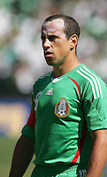 Gerardo Torrado. Mexico defeated Nicaragua 2-0 during the First Round of the 2009 CONCACAF Gold Cup at the Oakland, Coliseum in Oakland, California on July 5, 2009.