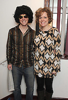 Marie Ford celebrated her 40th birthday with a 70s theme ar Villa Park Birmingham on Sat