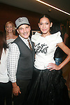 STYLIST PHILLIP BLOCK AND MODEL ATTEND NFL & VOGUE CELEBRATE NFL WOMEN'S APPAREL & UNVEIL MARCHESA DESIGN AT THE NATIONAL FOOTBALL LEAGUE, NY  10/2/12
