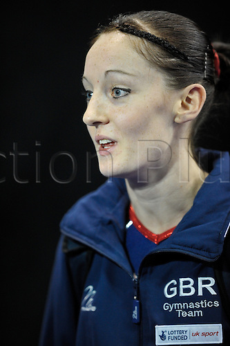 17.11.2011 Birmingham, England. Trampoline and Tumbling World Championships. Kat Driscoll of Great Britiain.